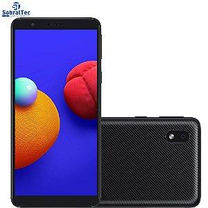 """Smartphone Samsung Galaxy A01 Core Preto 32GB, Tela Infinita de 5.3"""", Câmera Traseira 8MP, Android GO 10.0, Dual Chip"""