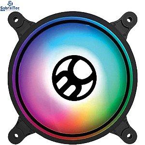 Cooler FAN Bluecase com LED RGB, 120mm - BF-19RGB- Bulk