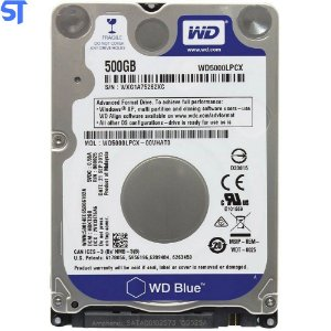 Hd Para Notebook Wd Western Digital Blue 500gb Sata 6.0gb/s
