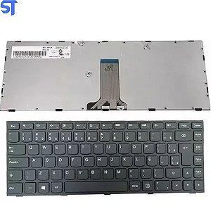 Teclado Notebook Lenovo Ideapad G4O - B40 SERIES Padrao Br Pn SN20F50861 Preto