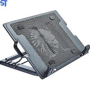 "Base para Notebook 1 Cooler 9/17"" Multilaser -AC166"
