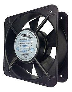 Ventilador Cooler 150mm 110v - 220v Corpo Aluminio Metaltex