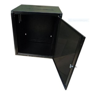 Mini Rack De Parede 6u X 470mm - Standard 19 Preto