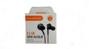 Fone de Ouvido EJ-S8 Intra-Auricular H´Maston