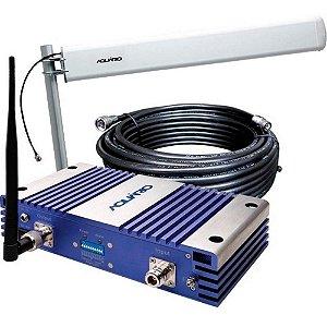 Kit Repetidor de Sinal para Celular 2100MHZ 70DB - RP-2170
