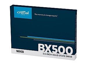 Hd Ssd 960Gb Crucial Bx500 3d Nand Sata3 -2,5 7mm