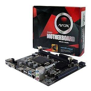 Placa Mãe Micro Atx Lga 1150 Ddr3 Afox IH81-Ma Intel
