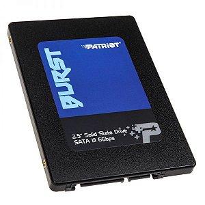 "Hd Ssd 120GB Patriot Burst Sata 3 - 2.5""- Pbu120gs25ssdr"