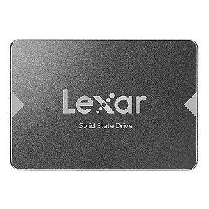 Hd Ssd 256gb Lexar 2.5 Sata 3.0 (6 Gb/s) Lns100-256rbn