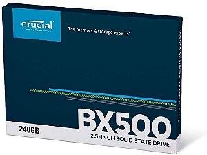 Hd Ssd Crucial 240 Gb Bx500 3D Nand Sata 2,5 Ct240bx500ssd1