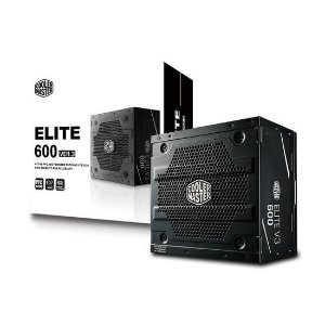 Fonte Atx Real Cooler Master Elite v3 600W Full Range - Mpw-6001