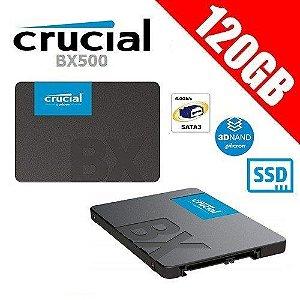 Hd Ssd Crucial 120 Gb Bx500 3D Nand Sata3 2,5 7mm Ct120bx500ssd1