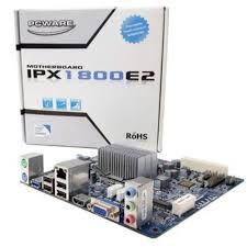 Kit Placa Mãe PCWare IPX1800E2 + Celeron Dual-Core Hdmi + Memória de 4Gb