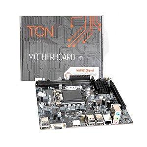 Placa Mãe Micro ATX Lga 1155 Ddr3 TCN H61 Hdmi (S,V,R) Ger 2-3