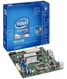 Placa Mae Lga 775 Intel Dg41 RG- Com Processador - Usd