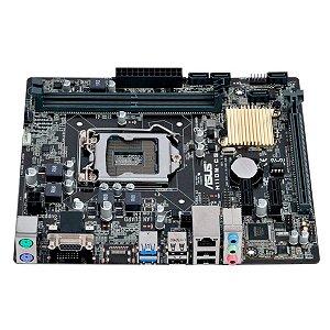 Placa Mãe Asus Ddr4 Soket 1151 Intel H110M-Cs/Br