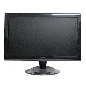 """Monitor Lcd 18,5"""" Widescreen Preto AOC 936swa Mult."""