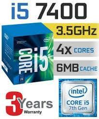 Processador Intel Core i5-7400 Kaby Lake 6MB 3.0Ghz Lga 1151-7ª Ger