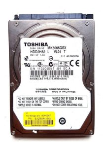 Hd Int. Notebook 500 Gb Toshiba MK5065GSXF