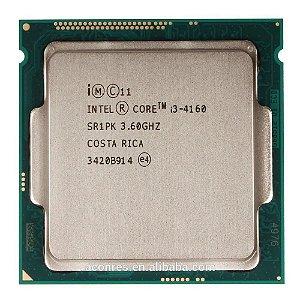 Processador Intel Core i3-4160 3M Cache 3.60 GHz Lga 1150