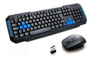 Kit Teclado e Mouse Wireless 2.4 Ghz Wb-8033 Veibo