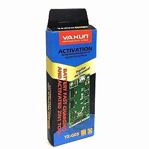 Placa Reativadora De Bateria Yaxun G03 Moto G Motox iPhones 4-5-6-7