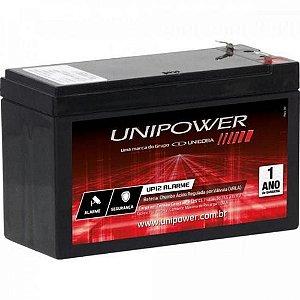 Bateria Selada Para Nobreak 12v 7Ah F187 UP1270 Seg Ot Unipower