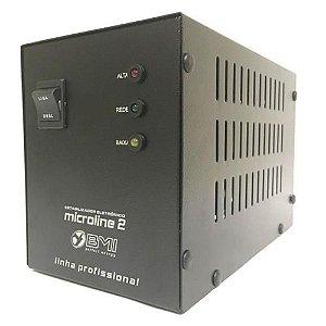 Estabilizador Profissional Microline 2 1500va W 110v Bmi
