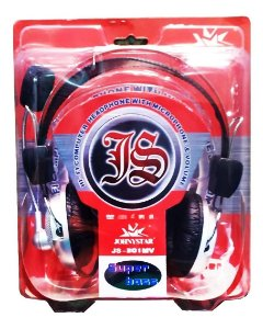 Headphone Com Microfone  e Volume TB-301 Super Bass