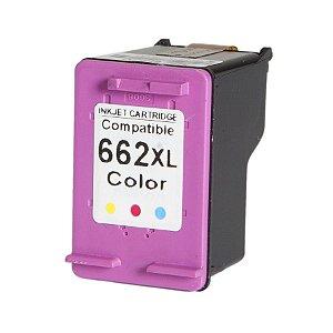 Cartucho Compatível HP 662 Color XL