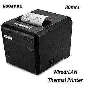 Impressora Térmica Usb Não Fiscal JP80H-US 80mm Com Guilhotina