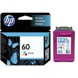 Cartucho Hp 60 Color 165 Paginas Cc643wb -3 Mls