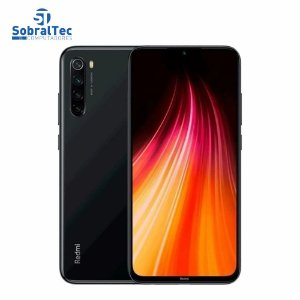 "Celular Xiaomi Redmi Note 8 64Gb 4Gb Ram Dual Sim Tela 6.3"" Cam 48Mp Space Black M1908C3JH"