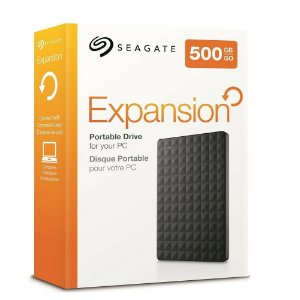 HD Externo 500GB Seagate Expansion STEA500400 USB 3.0 Compacto