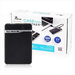 Case para HD Notebook Usb 2.0 Sata 2.5 KP-HD001 Knup