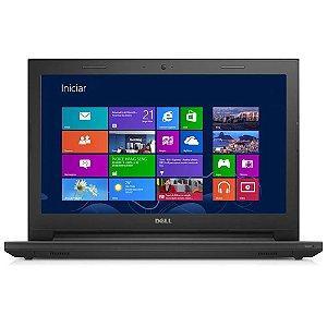 Notebook Dell Inspiron 3442 Core I3 4005u Hd 500Gb Memória 4gb Semi