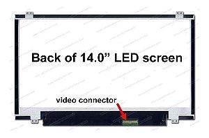 "Tela Notebook Display Lcd 14"" Slim B140XW03 V.0 H/W:0B F/W:1- Usd"
