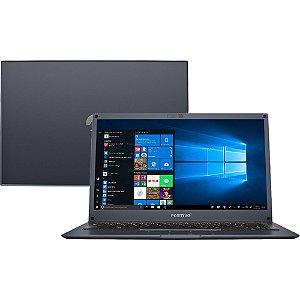 Notebook Positivo Motion Gray Q232A 2GB 32GB SSD + 64GB Nuvem
