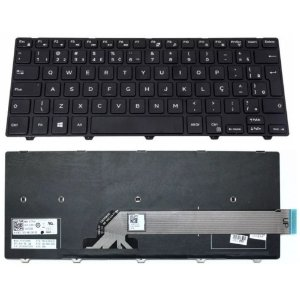 Teclado do Notebook  Dell Inspiron 14-3000 Séries Pk1313p1a32 Br_Usd