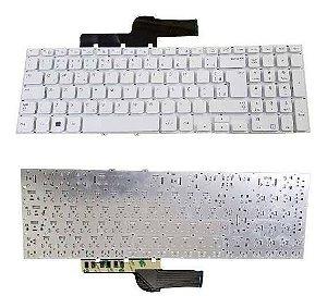 Teclado Notebook Samsung Pn 9z.n4nsc.00B- Np270 Np270E5E Branco