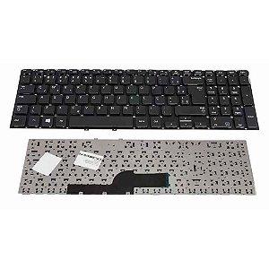Teclado Notebook Samsung Np270e5e-kd1br Np270e5e-kd2br Com Ç- Preto
