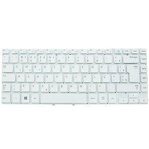 Teclado Notebook Samsung Np270E4E -Pn 9z. N8ysn -Branco - Br - No Frame