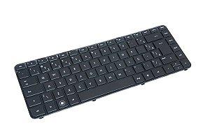 Teclado Notebook Hp G4-2000 Series Com Ç e Com Moldura