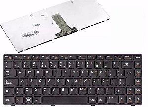 Teclado Notebook Lenovo G470-uk- Pn Mb290-006  Preto