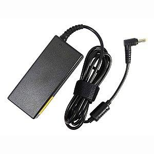 Fonte Notebook Acer 19v 3.42a Pa 1650 02- Plug Amarelo Curvado ( 5.5 x 1.7)