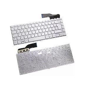 Teclado Notebook Samsung Pn: 9z.n4nsc.30G Np270 Np270E5E Branco