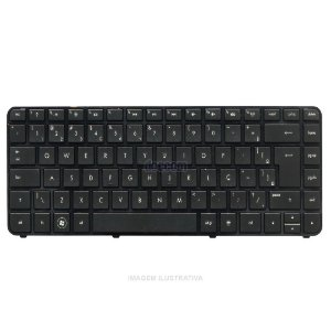 Teclado Notebook Hp G4-2000 Series Sem Moldura