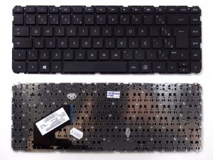 Teclado Notebook HP Pavilion 14-B -Black - Br - Flat Normal