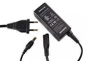 Fonte Notebook Positivo Cce 19 v. 2,1a - Plug: 5.5mm x 2.5mm