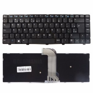 Teclado do Notebook  Dell Inspiron 14-2620 bringIT  Mod 3421 Dell Part Number V137225AR1